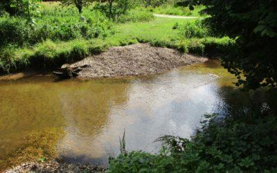 Gespräche mit dem Wasserverband Pinnau, Bilsbek, Gronau – Neue Kieseinschüttungen vereinbart