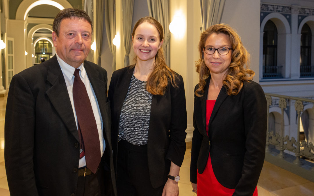 Werner-von-Melle-Preis 2019 geht an die Politikwissenschaftlerin Svenja Ahlhaus